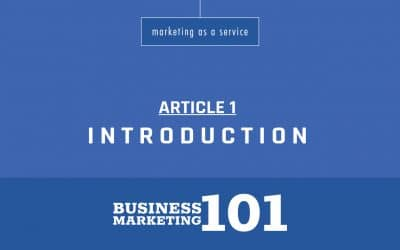 Business Marketing 101:  Introduction