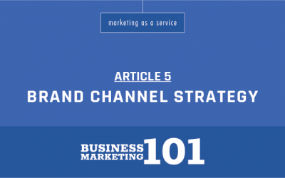 Business Marketing 101:  Brand Channel Strategy & Phases