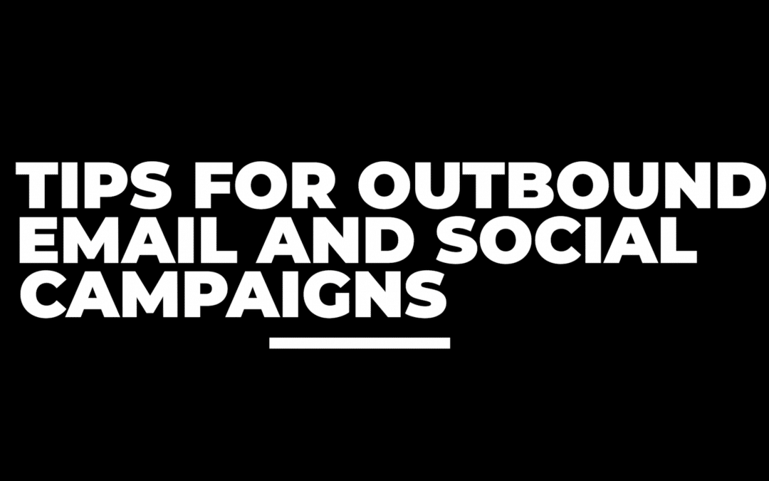 Tips for Email and Social Campaigns